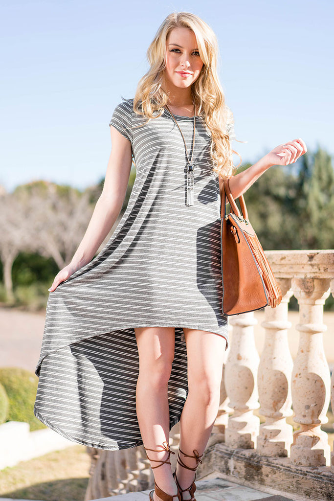 Miss Independent High Low Dress