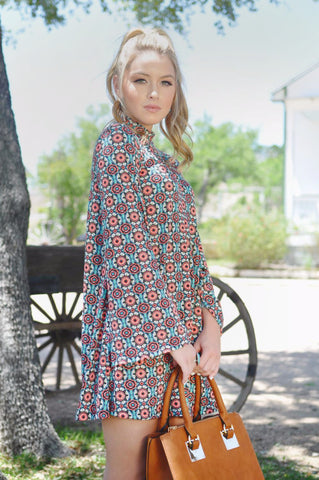 Abigail Embroidered Dress