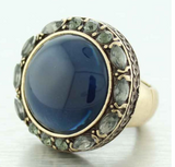 Maisie Round Statement Ring