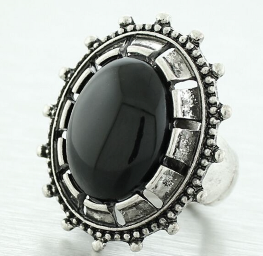 Jemima Stone Statement Ring