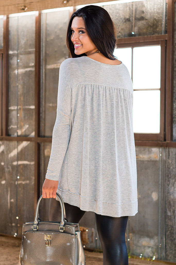 Rodeo Drive High Low Tunic - Sample