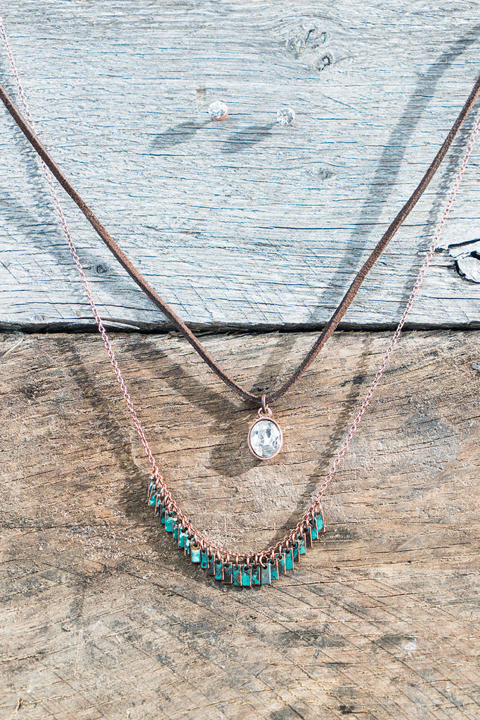 Vintage Stacked Necklace Set