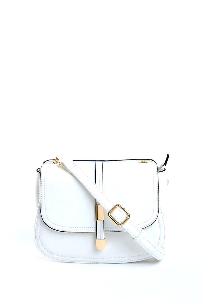 The Chrissy White Crossbody Bag