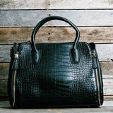 The MacKenzie Crocodile Bag - Sample