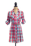 Reagan Plaid Dress