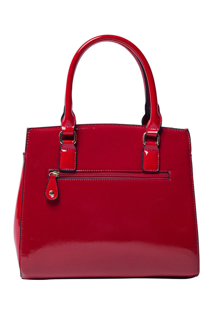 The Celine Red Patent Handbag