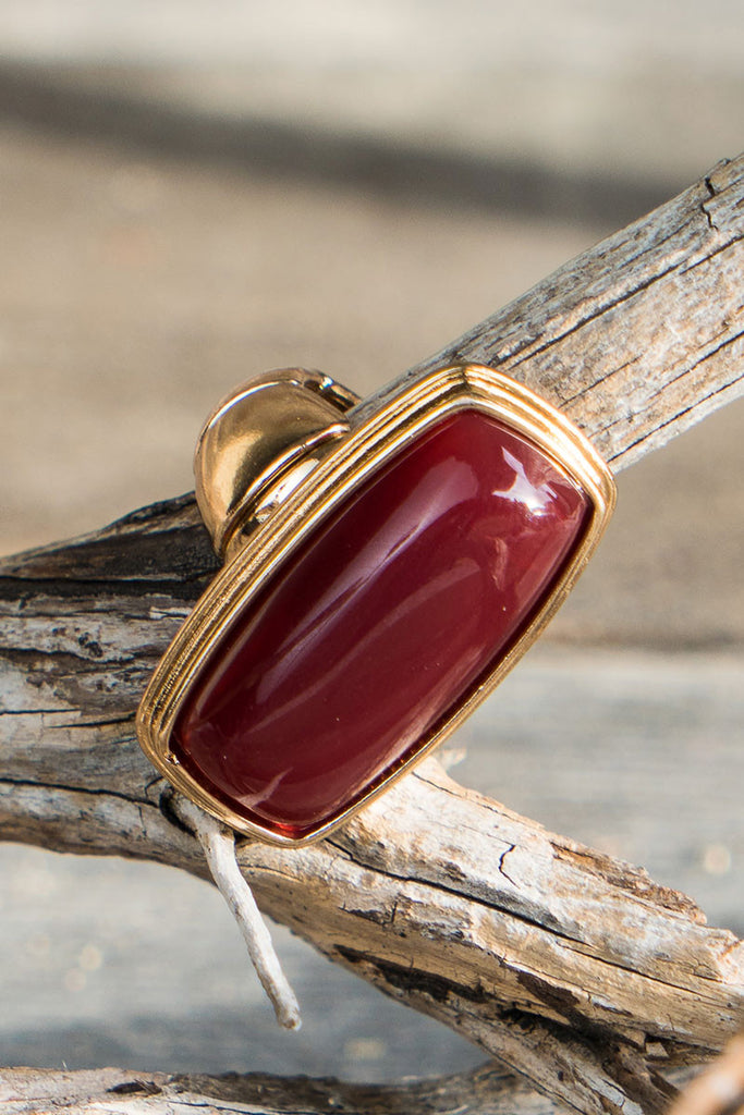 Willow Rectangular Statement Ring