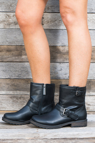 Riley Lace Up Booties