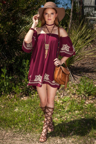 Shelby High Low Dress