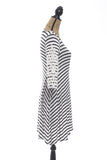 Laura Striped Swing Dress