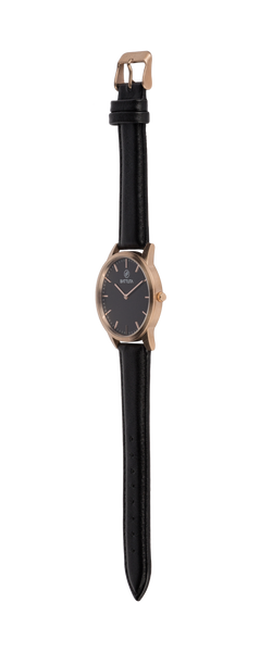 Rose Gold Case with Black Dial - Battuta Watches