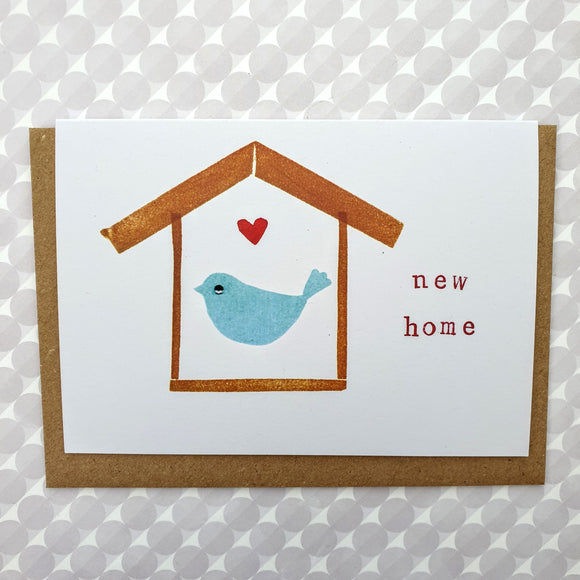 Birdhouse 'New Home' card
