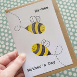 'Happy Mother's Day' Bee Pun Card