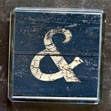 "Sheffield Typography Magnet ""&"""