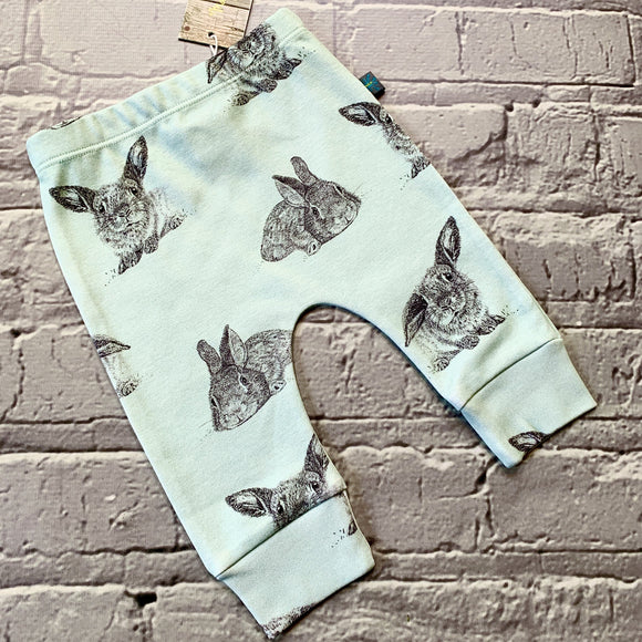 Mint Green Bunny Baby Leggings, Hats, Mits & Gift Sets