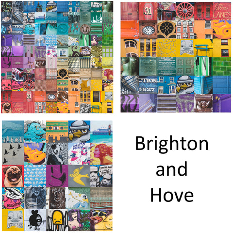 3 Print Selection: Brighton and Hove