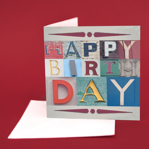 Typography Card