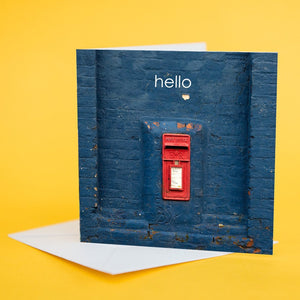 "Art Card ""Hello"""