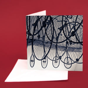 "Art Card ""Penny Farthings"""