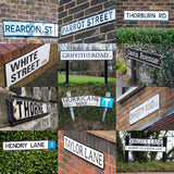 2 Print Selection: Snooker Player Street Signs
