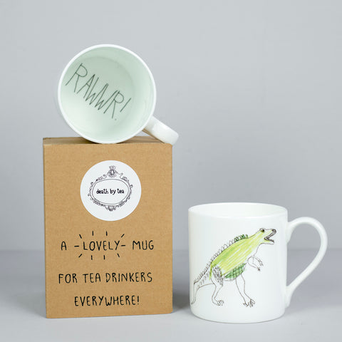 'Dinosaurs Are Cool' Bone China Mug