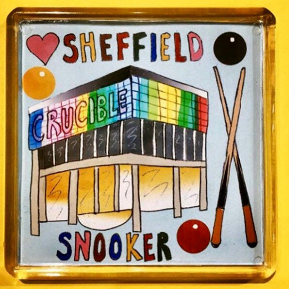 Sheffield Snooker Fridge Magnet