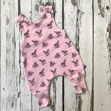 Pink Bunny Baby Rompers, Hats, Mits & Gift Sets