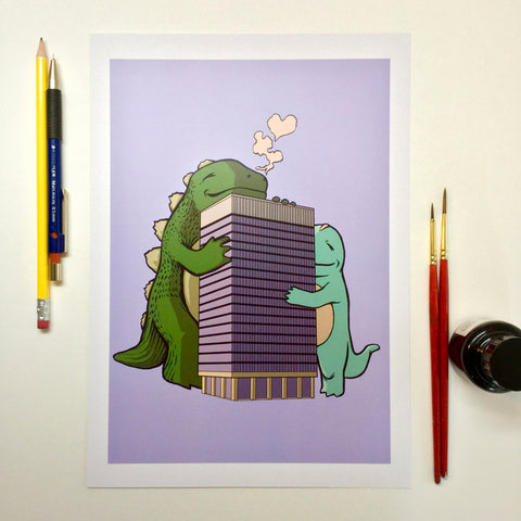 Arts Tower (A4 digital print)