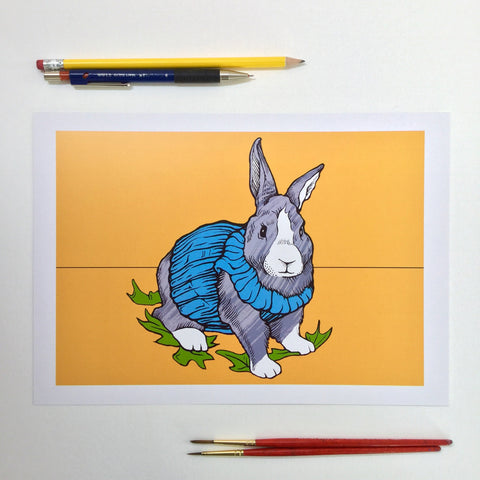 Rabbit (A4 digital print)