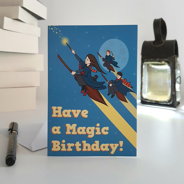 Have A Magic Birthday Card Sheffield Makers Shop