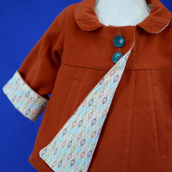 Age 3 Kids Cinnamon Coat