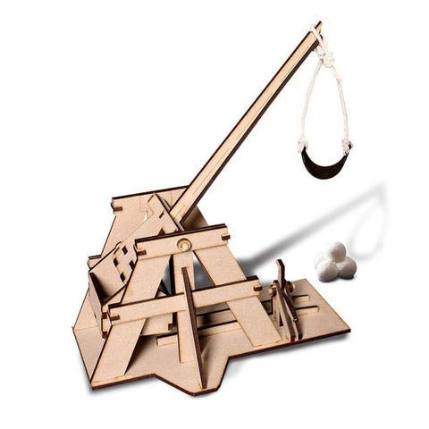 Wooden Toy Kit - Trebuchet