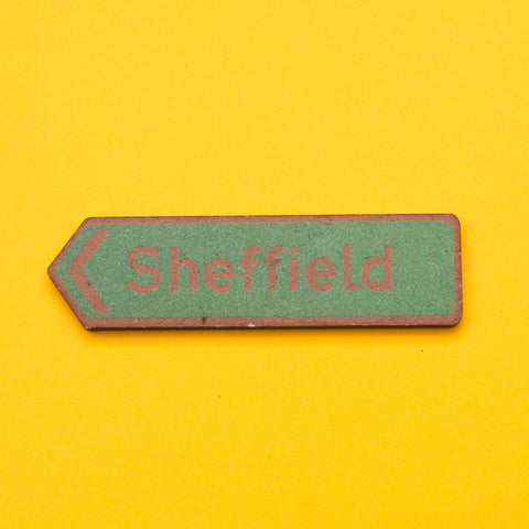 Sheffield Fridge Magnet