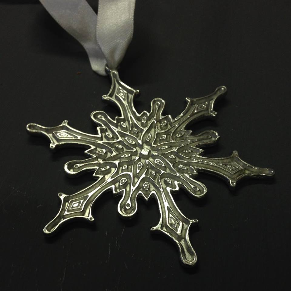 Elsa Frozen Snowflake Christmas Decoration