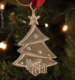 Pewter Christmas Tree Decoration