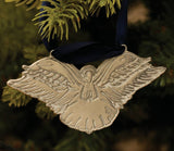 Angel Ophelia Pewter Christmas Decoration