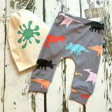 Dinosaur Baby Leggings, Hats, Mits & Gift Sets