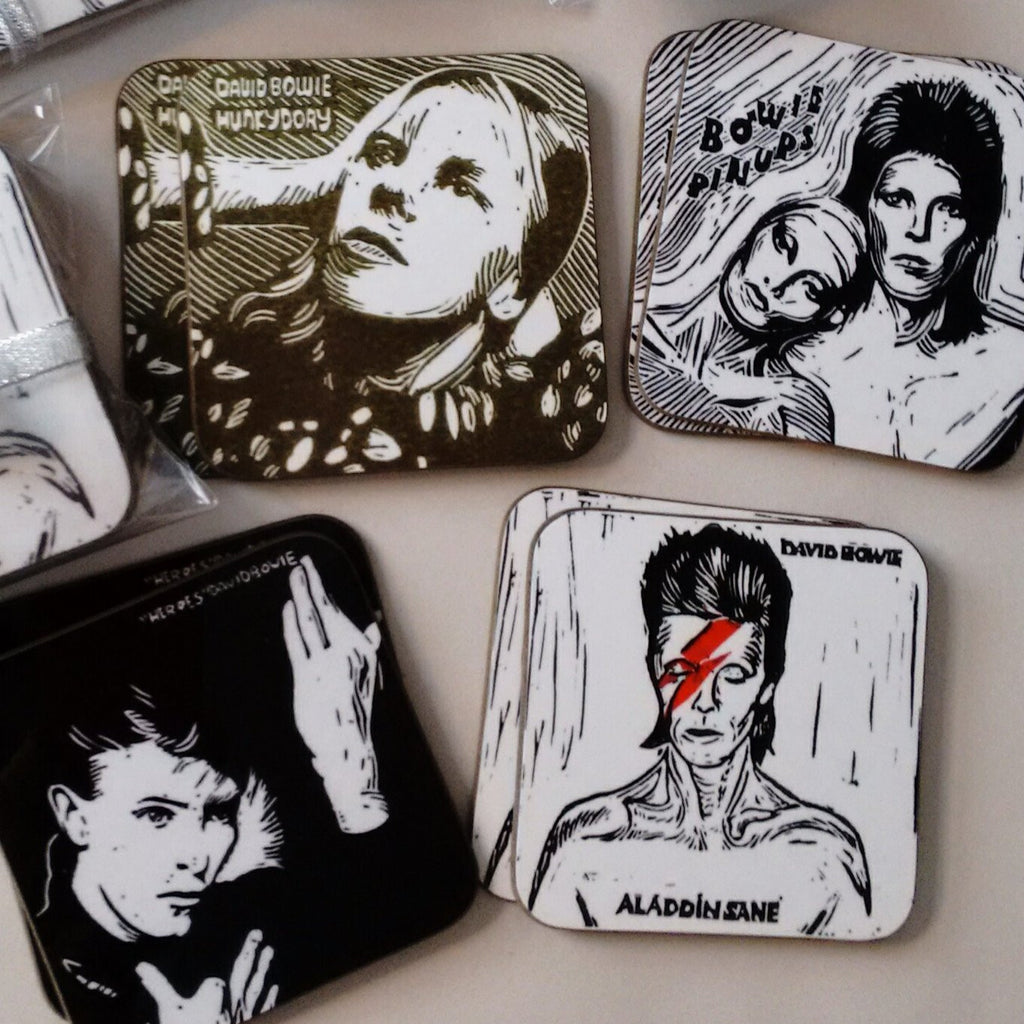 Bowie Berserk coaster collection