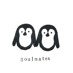 Card - Penguin soulmates