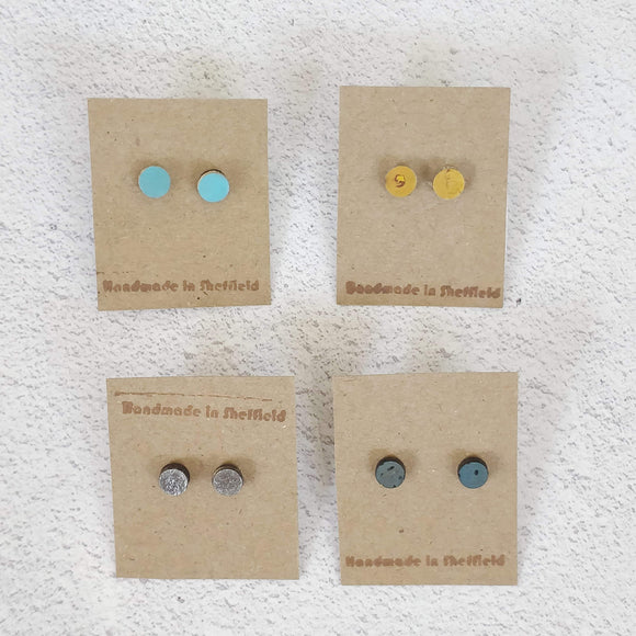 Stud earrings - circles
