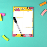Let's Do This A5 Daily Planner Notepad
