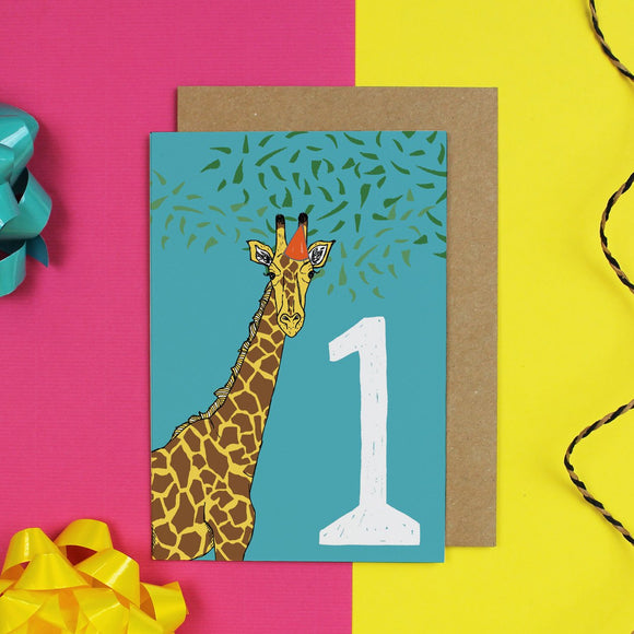 Age 1 Birthday Card