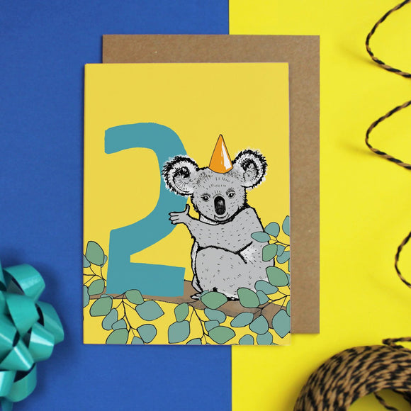 Age 2 Birthday Card