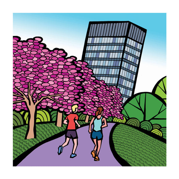 Arts Tower - Greeting Card