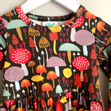 Organic toadstool dress