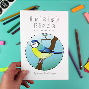 British Birds Colouring Book