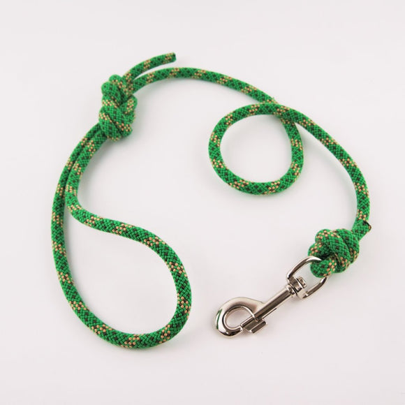 Climbing Rope Dog Lead - Green