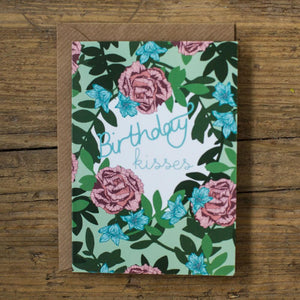 Birthday Kisses Card