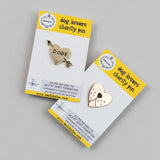 Charity Dog Pin Badge