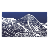 Everest - Original Linocut Print